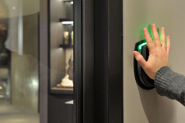 Palm Recognition based Access Control System