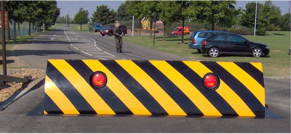 automatic road blocker