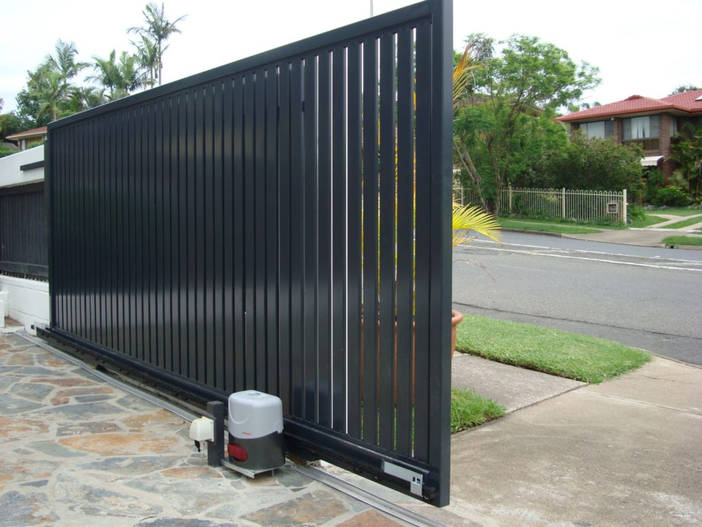 heavy motorised gate