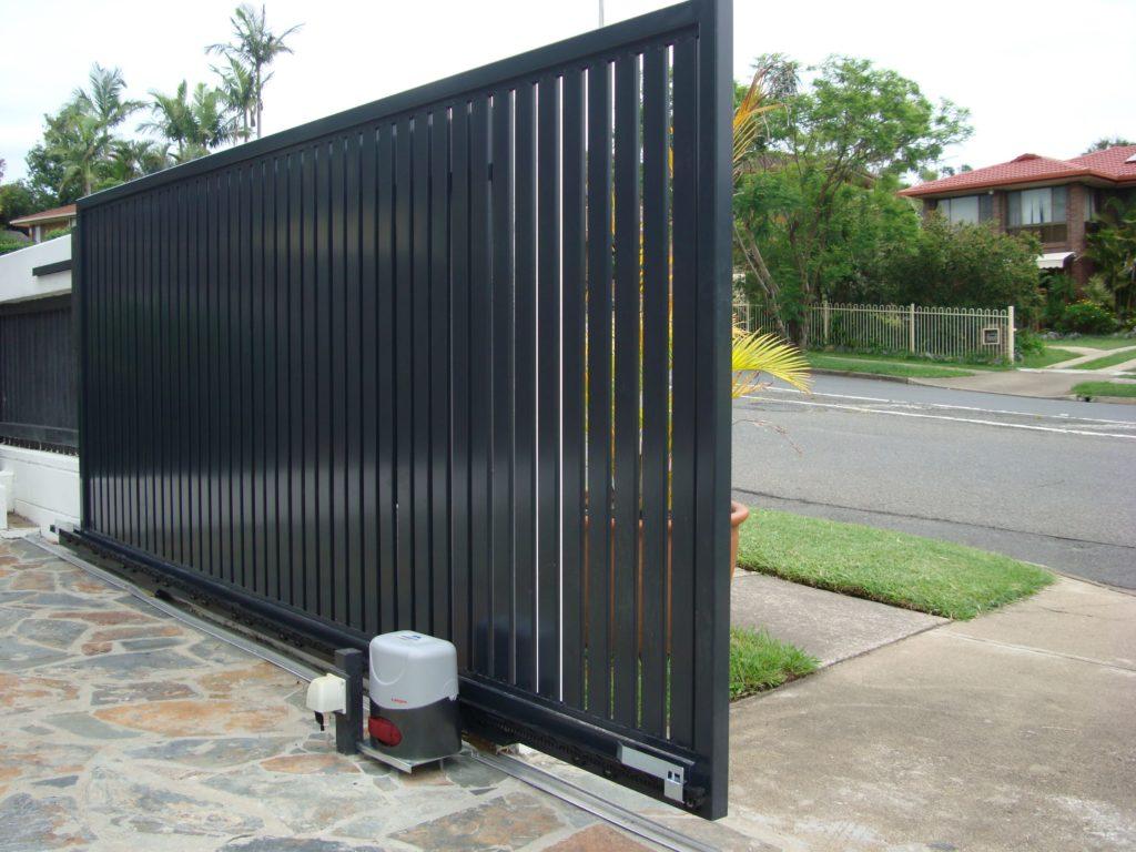 heavy motorised gate